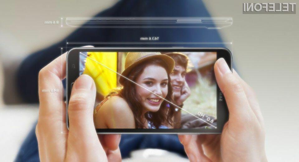 Mobilnik Samsung Galaxy Mega 2 lahko brez težav nadomesti celo kompaktni tablični računalnik.