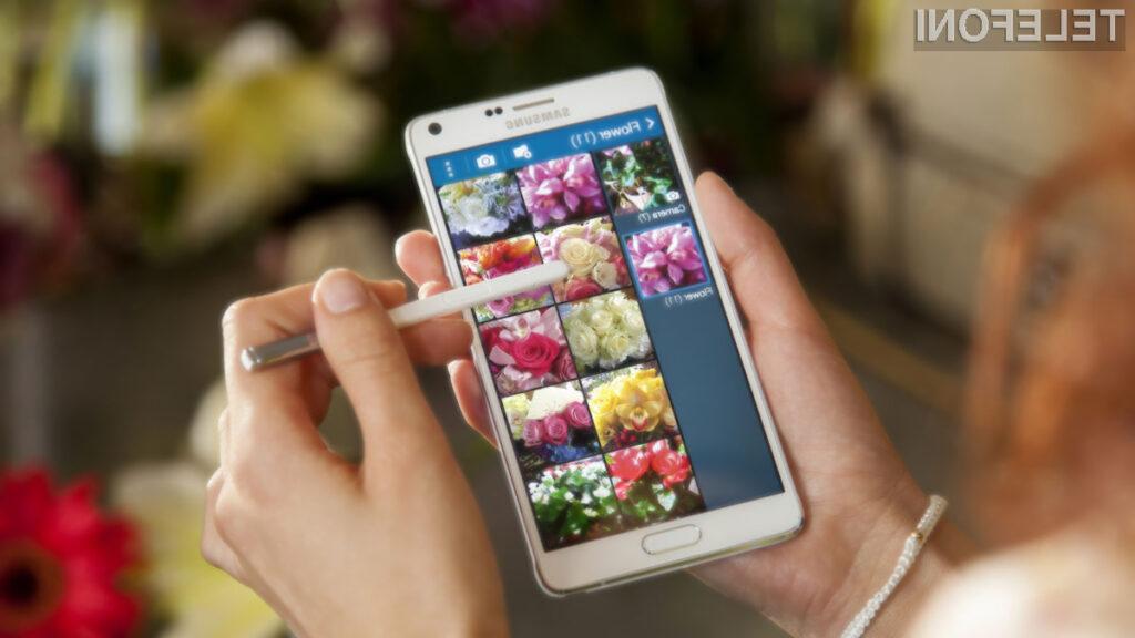Samsung Galaxy Note 4 bo prodajne police trgovin ugledal že v prvi polovici jeseni!
