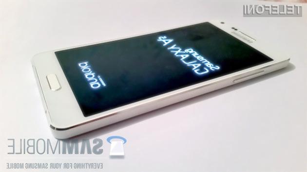 Pametni mobilni telefon Samsung Galaxy A5 bo ponujal odličen kompromis med ceno in zmogljivostjo!