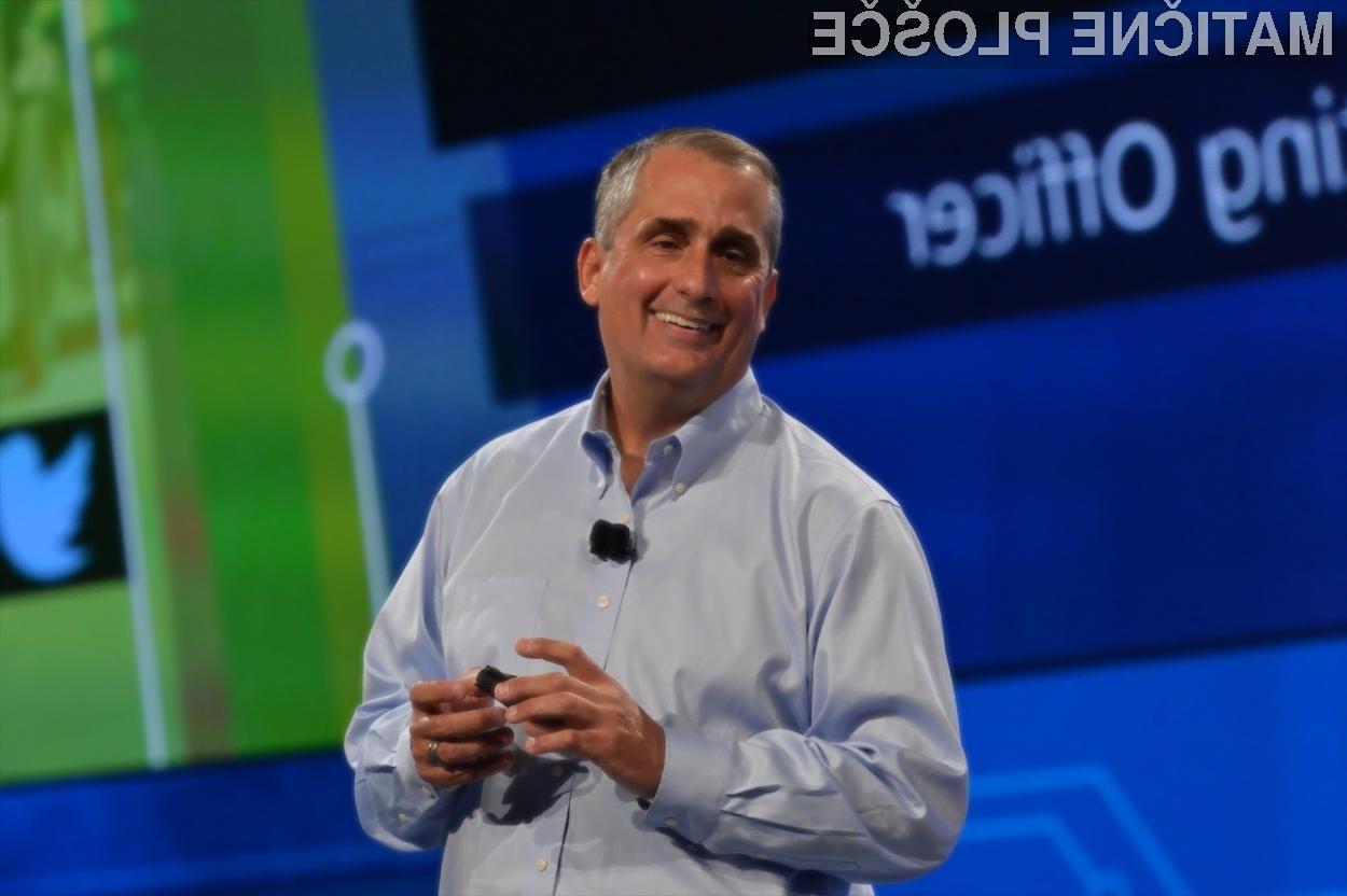 Izvršni direktor podjetja Intel, Brian Krzanich.