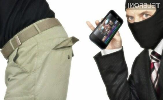 Ulični tatovi obožujejo predvsem Applove pametne mobilne telefone iPhone!