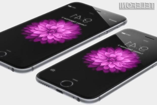 Procesor A8 v novih mobilnikih iPhone 6 je le za odtenek zmogljivejši od procesorja v lanskoletnem modelu iPhone 5S.