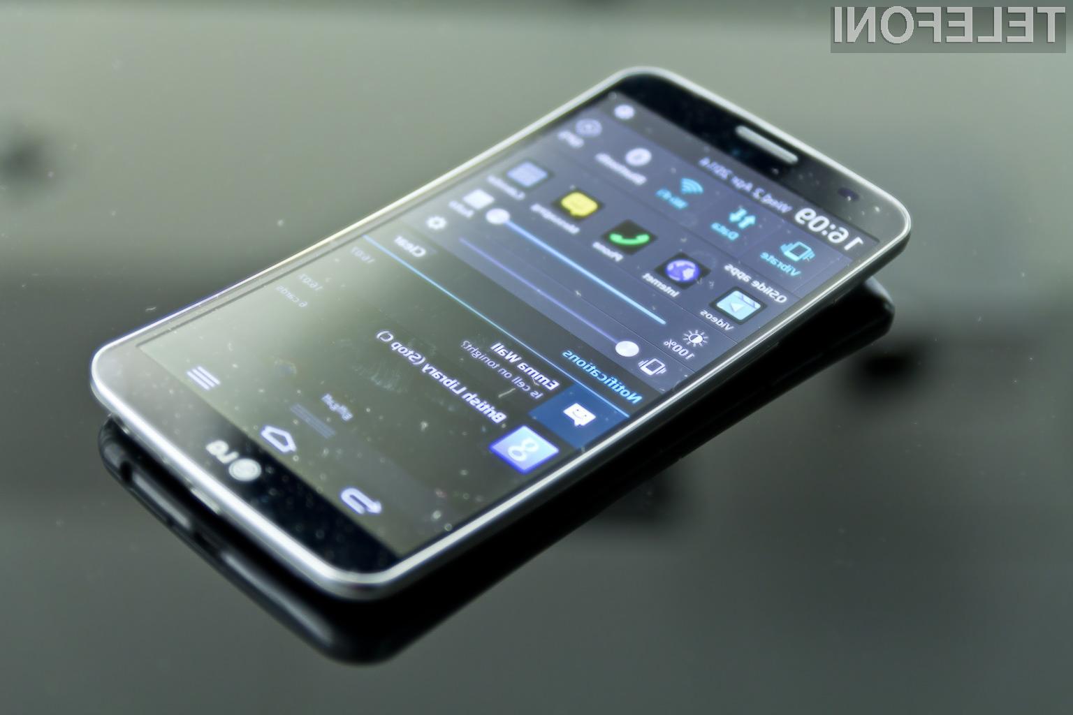 Ukrivljen pametni mobilni telefon G Flex 2 naj bi bil opremljen s precej kakovostnejšim zaslonom!