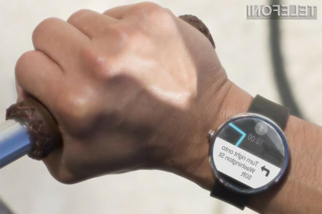 Pametna ročna ura Motorola Moto 360 razprodana v zgolj nekaj urah