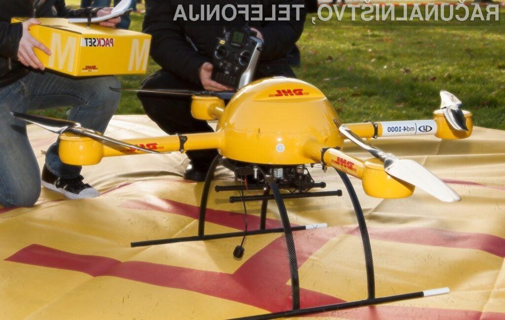 Klasično dostavno službo naj bi že v bližnji prihodnosti nadomestili leteči roboti.