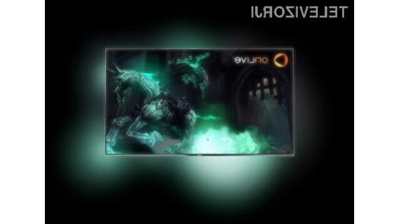 Svet iger na velikem zaslonu philipsovih televizorjev
