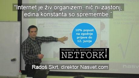 Radoš Skrt, Nasvet d.o.o.