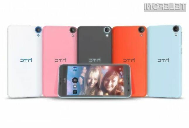 Mobilnik HTC Desire 820 s 64-bitnim procesorjem bo naprodaj že konec septembra!