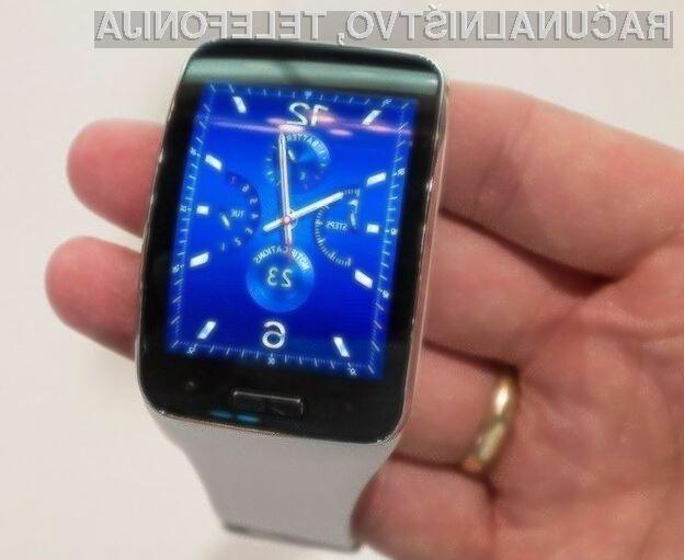 Prenovljena pametna ročna ura Samsung Gear S naj bi ponujala možnost izvajanja mobilnih plačil.