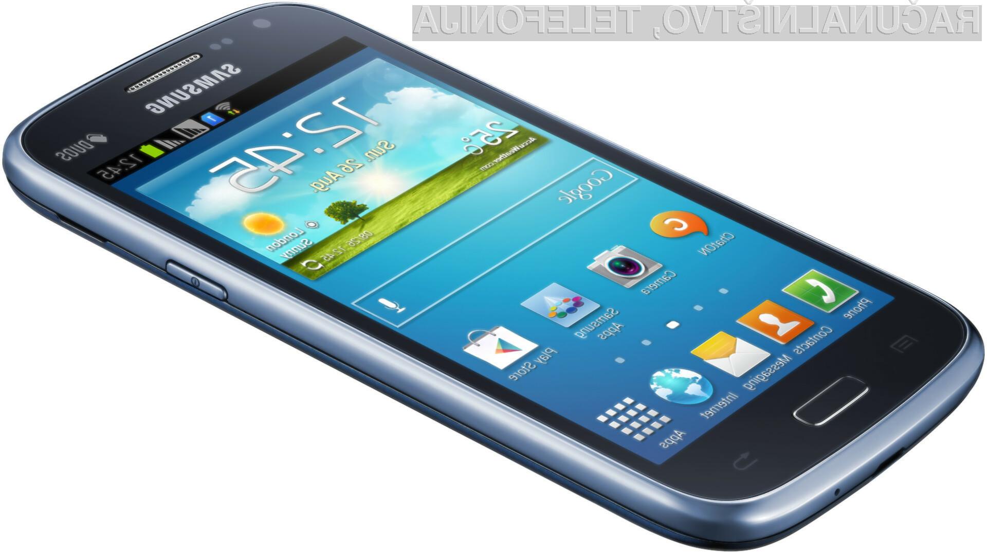Podarjamo vam čisto novi pametni telefon Samsung Galaxy Core Duos.