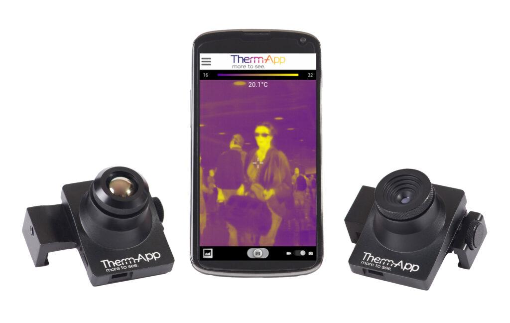 Spremenite svoj mobilnik v termalno kamero