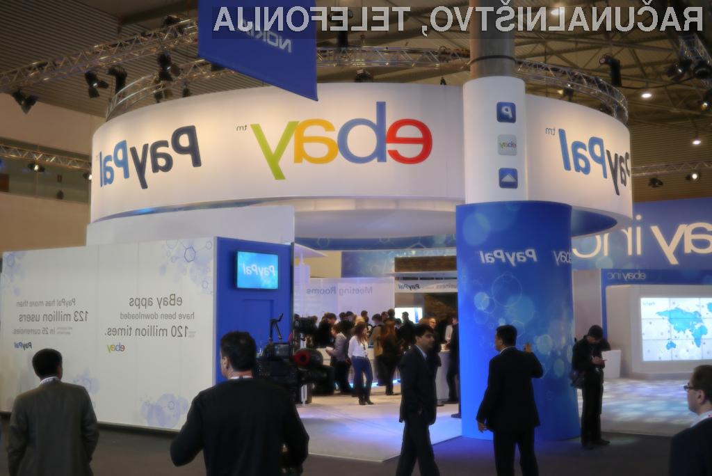 Konec romance za podjetji eBay in PayPal