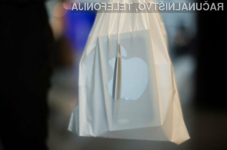 Apple kljub pomanjkanju inovacij z rekordnim dobičkom