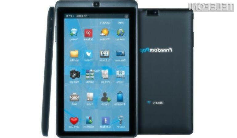 Tablični računalnik FreedomPop Liberty se bo zlahka prikupil tistim, ki za tovrstne naprave niso pripravljeni odšteti veliko denarja!