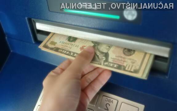 Škodljiva programska koda Backdoor.MSIL.Tyupkin nepridipravom omogoča oddaljen dvig denarja na okuženih bankomatih.