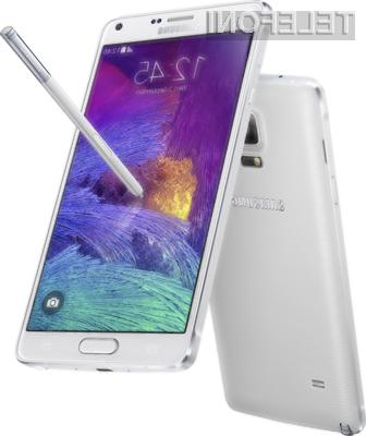 Podjetje Samsung je s pripravo mobilnika Galaxy Note 4 zadelo v polno!