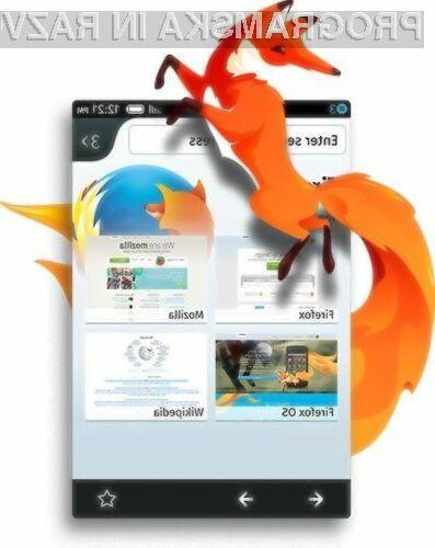 Operacijski sistem Mozilla Firefox OS se odlično prilega računalniku Raspberry Pi.