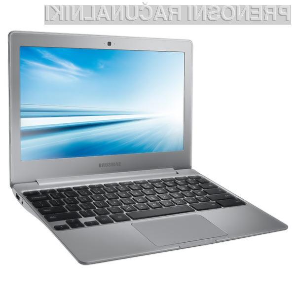 Novi prenosnik Samsung Chromebook 2 je pri delovanju povsem neslišen!