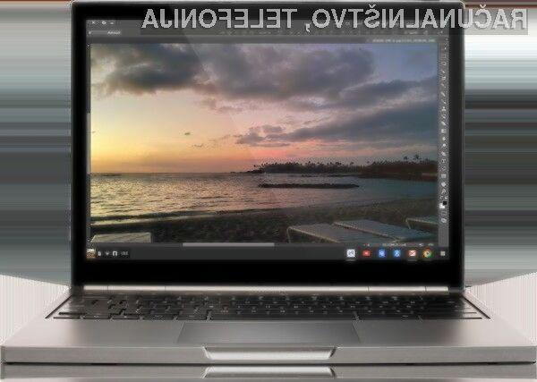 Uporabniki prenosnih računalnikov Google Chromebook bodo kmalu imeli možnost uporabe profesionalnega programa za obdelavo slik in fotografij Photoshop.