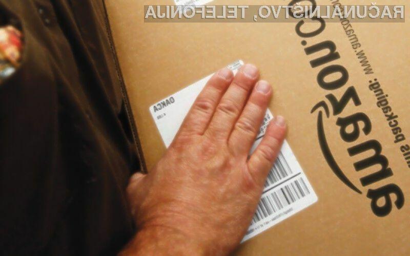 Podjetju Amazon zaradi domnevne utaje davkov grozi več milijardna kazen!