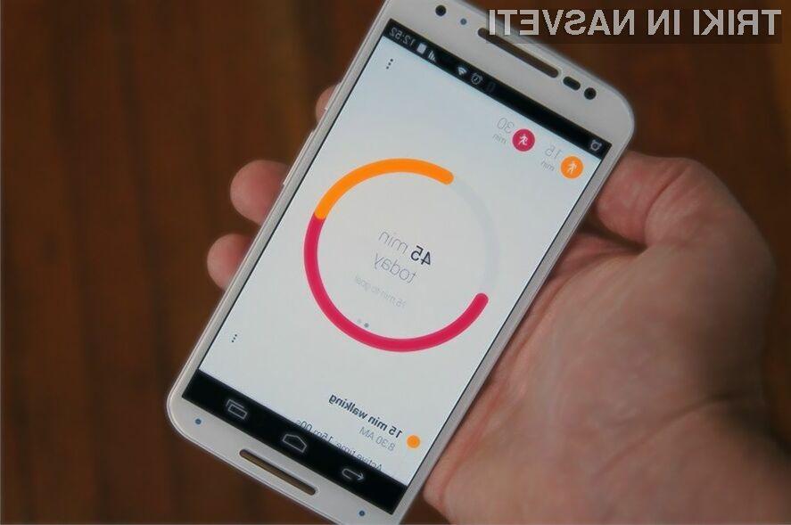 Zdravstvena aplikacija Google Fit je na las podobna Applovi HealthKit.