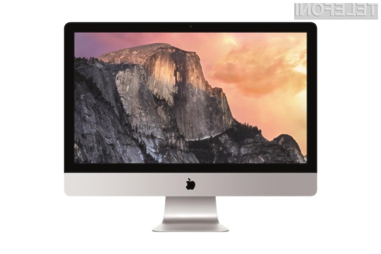 Osebnih računalnikov Mac z na dotik občutljivimi zasloni zagotovo še dalj časa ne bo na spregled!