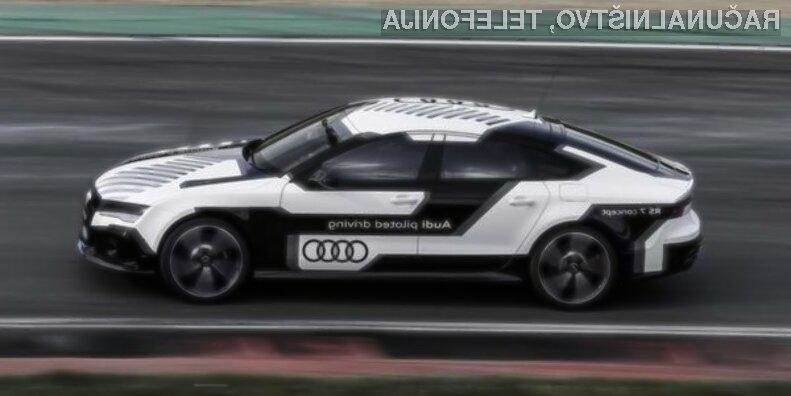 Samovozeči avtomobil Audi RS7 je prevzel lovoriko najhitrejšega avtomobila brez voznika.