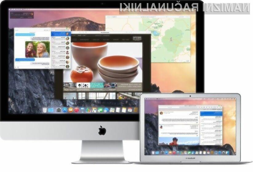Apple OS X 10.10 Yosemite navdušuje v vseh pogledih!