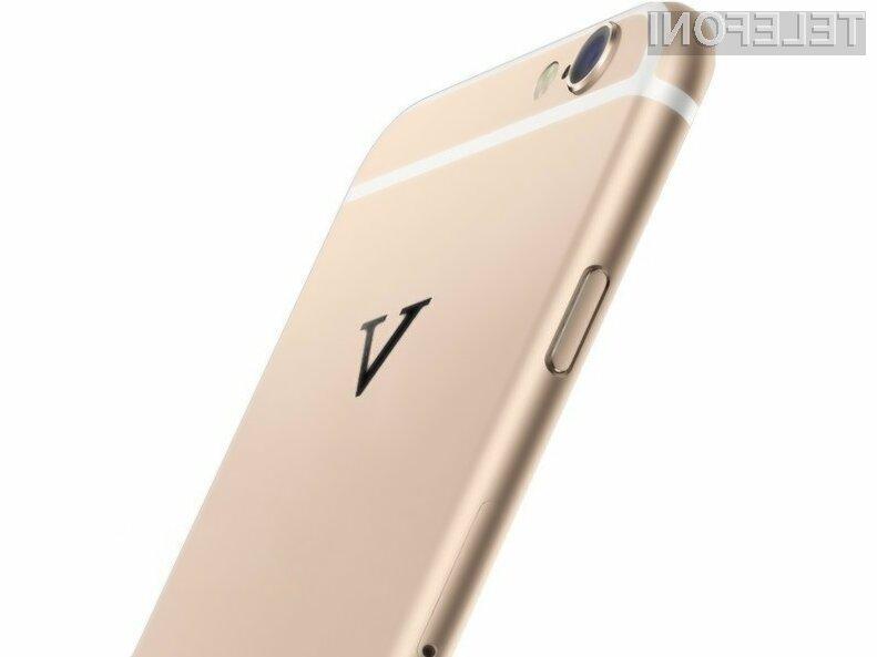 Pametni mobilni telefon Vphone I6 navdušuje tako po obliki kot po zmogljivost in ceni.