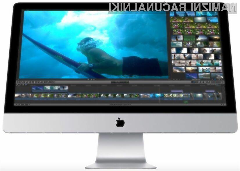 Najdražji iMac naj bi bil opremljen s 27-palčnim zaslonom ločljivosti kar 5.760 x 3.200 točk.