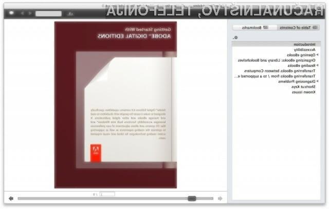 Program Adobe Digital Editions nevarno ogroža uporabnikovo zasebnost!
