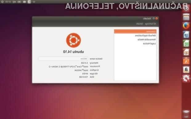 Odprtokodni operacijski sistem Ubuntu 14.10 je pisan na kožo napravam s 64-bitnimi mobilnimi procesorji podjetja ARM.