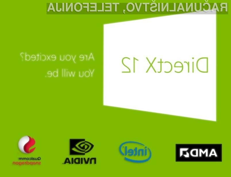 Grafična knjižica DirectX 12 bo pisana na kožo Windowsom 10, morda jo bo mogoče uporabljati tudi v navezi z Okni 7!