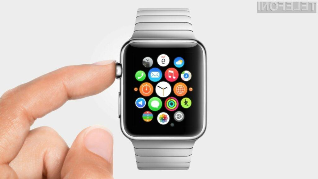 Pametna ročna ura Apple Watch bi lahko bila naprodaj že v drugi polovici febuarja 2015.