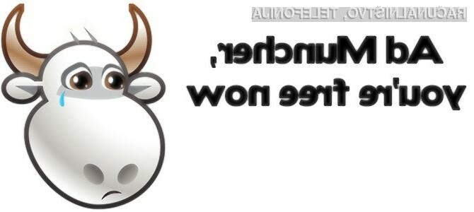 Nadaljnja vsoda programa AdMuncher bo odslej odvisna od donacij uporabnikov.