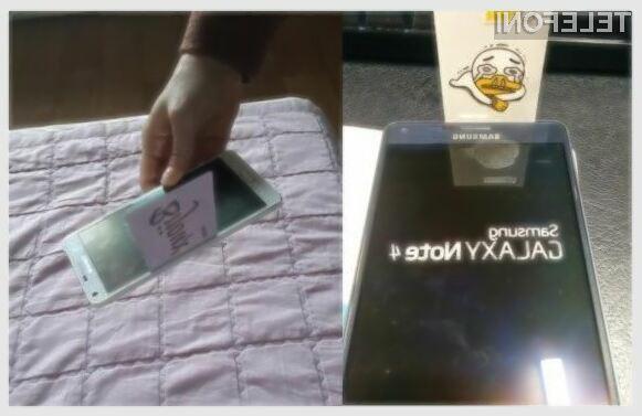 Samsung je prepričan, da ni nič narobe v tem, če zaslon ni povsem poravnan s kovinskim ohišjem.