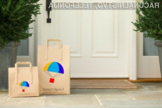 Googlova dostavna storitev Express je med uporabniki izjemno priljubljena!
