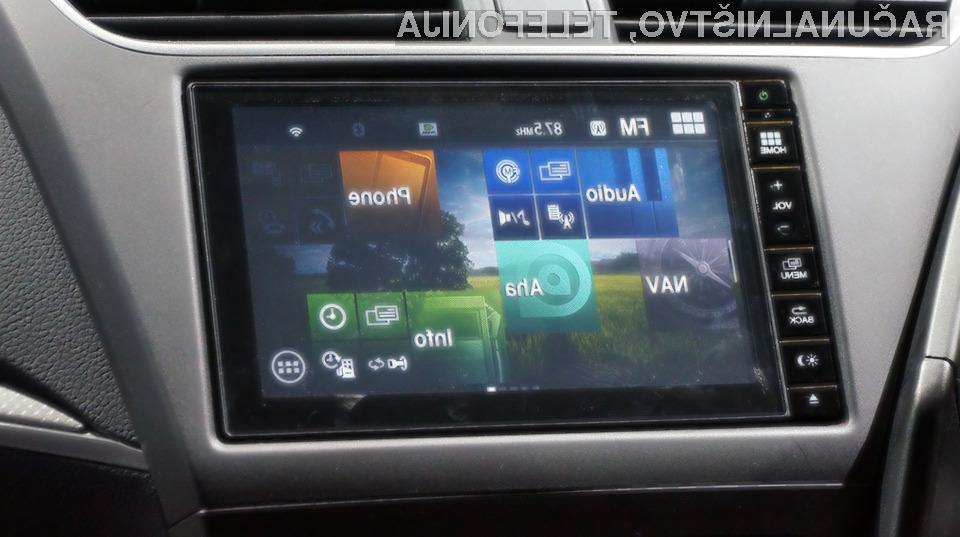 Napredni avtomobilski sistem Honda bo poenostavil z upravljanjem elektronskih naprav avtomobilov!