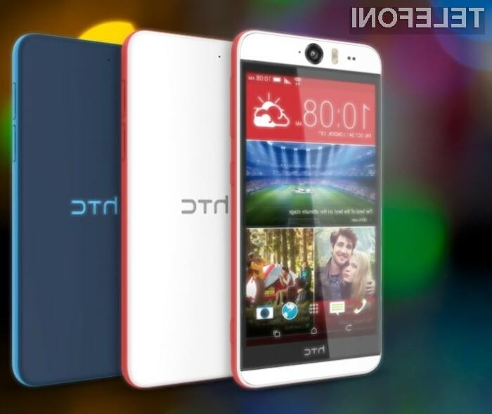 Pametni mobilni telefon HTC Desire Eye je brez sence dvoma pisan na kožo ljubiteljem »selfijev«.