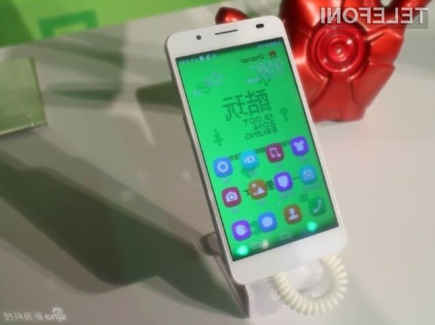 Pametni mobilni telefon Huawei Honor 6 Extreme Edition bo brez težav opravil tudi z najtežjimi nalogami.