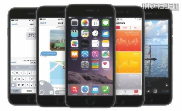 Apple iOS 8.1 na voljo za prenos!