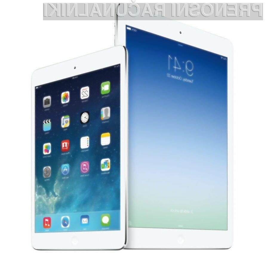 V ZDA naj bi bilo tablična računalnika Apple Air iPad 2 in iPad 3 Mini mogoče kupiti že konec oktobra!