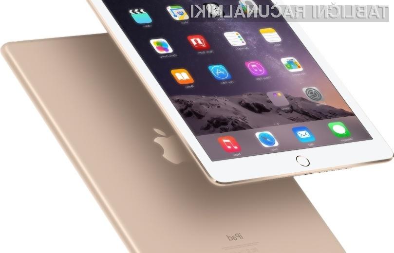 Apple si lahko od novega tabličnega računalnika iPad Air 2 obeta bajne zaslužke!