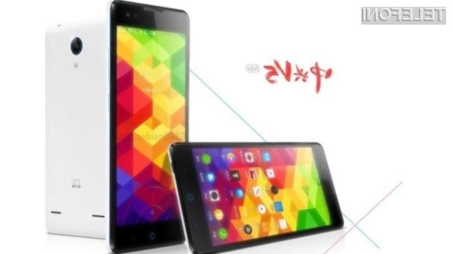 Pametna mobilna telefona ZTE V5 Max in V5S ponujata izjemno razmerje med ceno in zmogljivostjo.