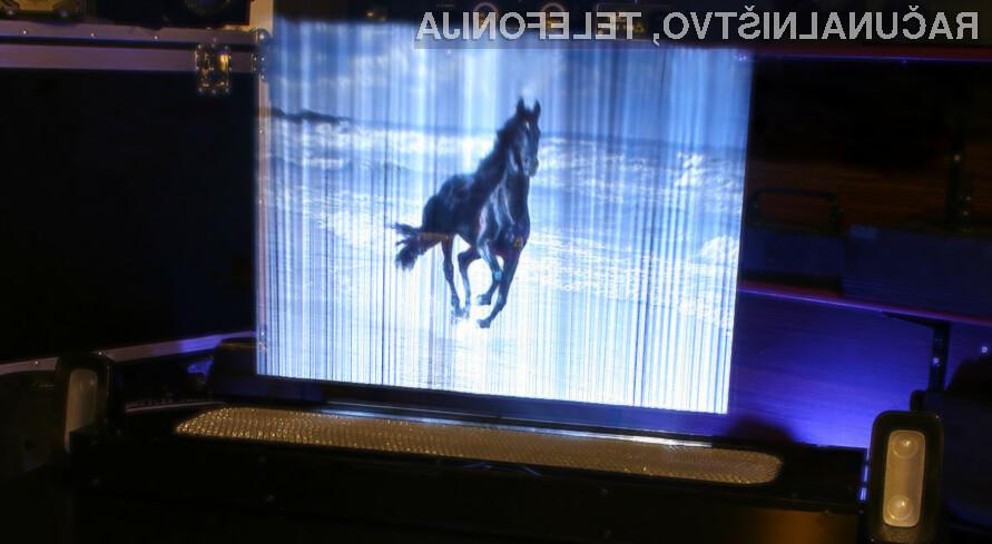 Novi hologrami že burijo domišljijo ljubiteljev znanstvenofantastičnih filmov in računalniških iger.