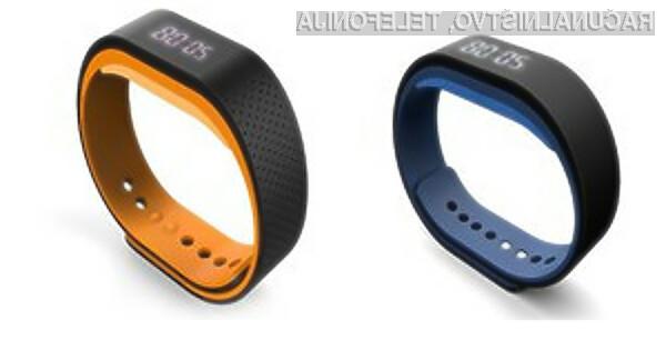 Pametno zapestnico Lenovo Smartband SW-B100 bomo lahko uporabljali celo med plavalnimi aktivnostmi.