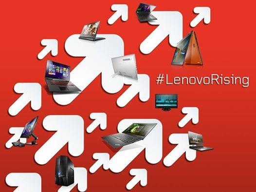 Vsak peti nov računalnik nosi logotip Lenovo