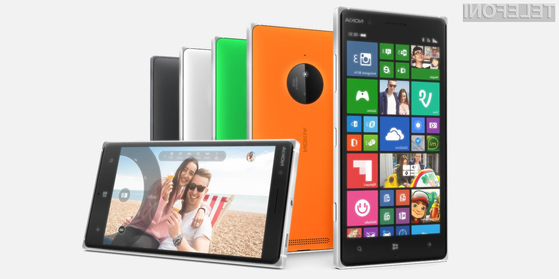 Pametni mobilni telefon Microsoft Lumia 830 ponuja odlično razmerje med maloprodajno ceno in zmogljivostjo.