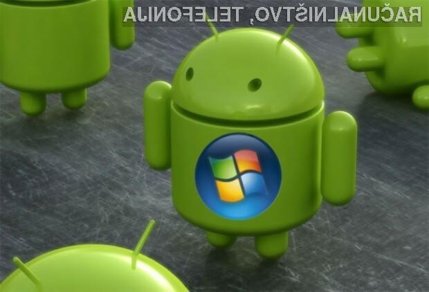 Več prodanih naprav Android pomeni več zaslužka za Microsoft.