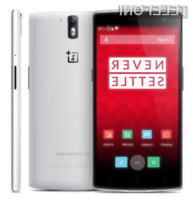 Pametni mobilni telefon OnePlus Two bo po vsej verjetnosti opremljen s 4,7-palčnim zaslonom!